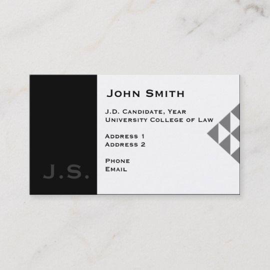 Law Student Business Card 3 Zazzle Com Student Business Cards Attorney Business Cards Law Student