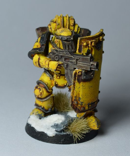 Pre-Heresy Imperial Fists by N0rthm00r, via Flickr