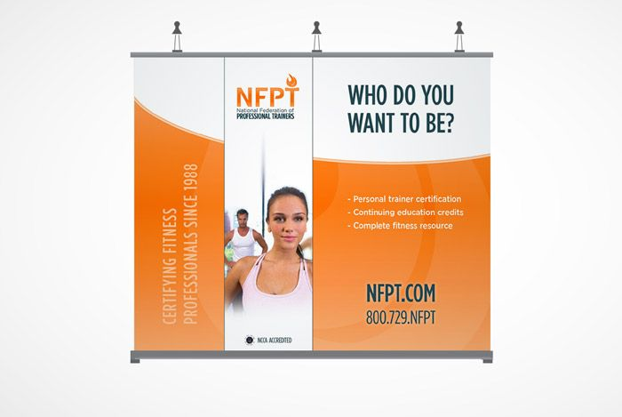 NFPT Tradeshow Booth designed by Tactic | Things we designed ...