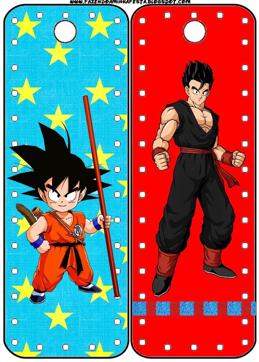 Dragon Ball Z: Imprimibles Gratis para Fiestas. | Cumpleaños ...