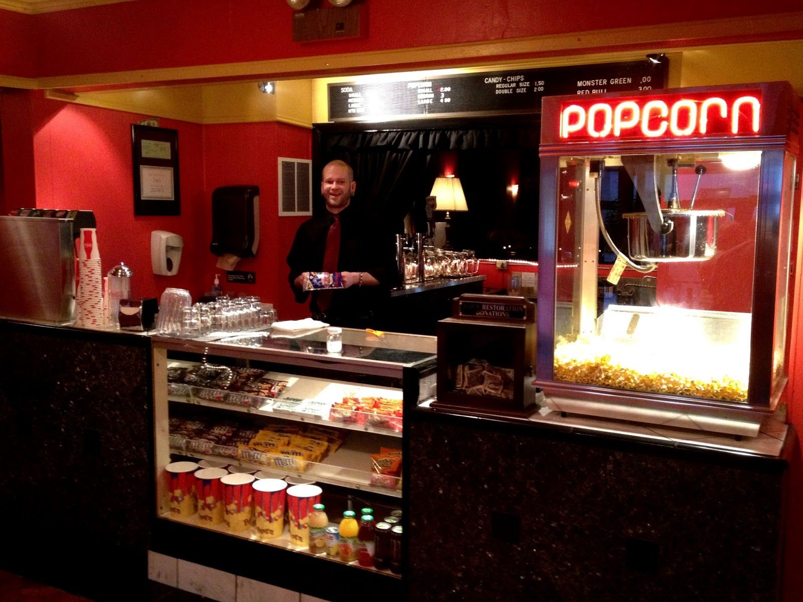 Concession Home Theater Pinterest Tickets