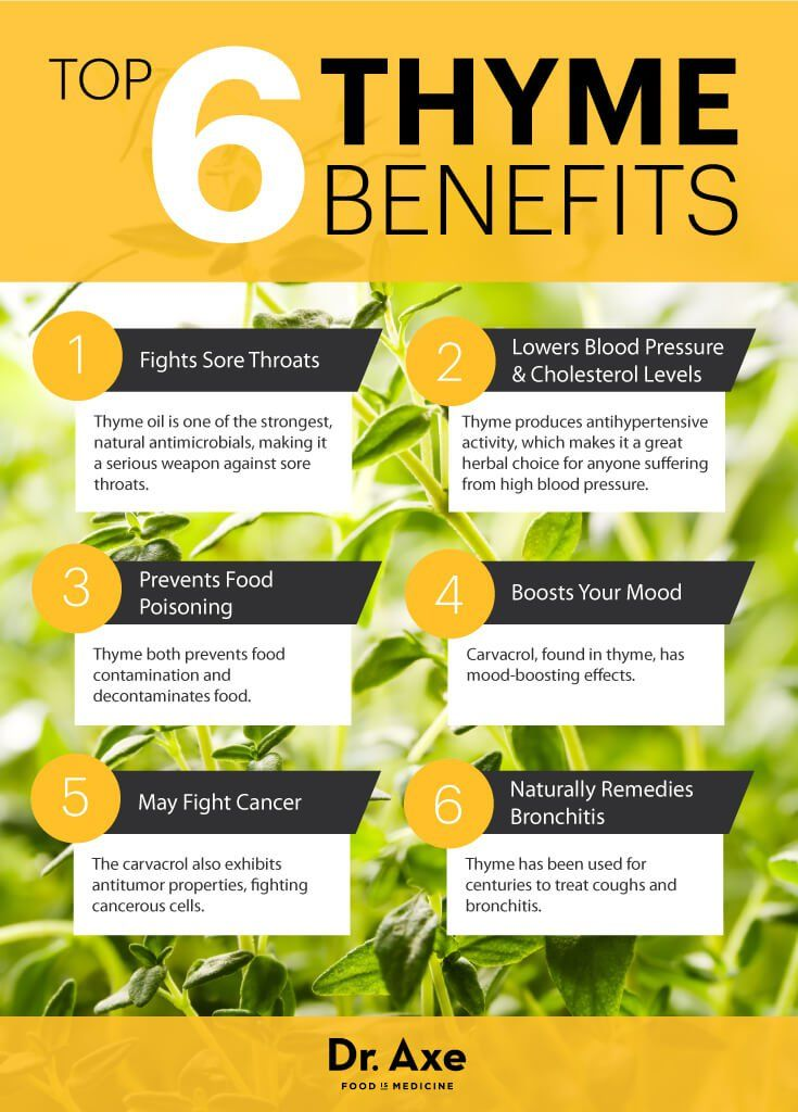 Mood Improving Cancer Fighting Thyme Healing Herbs And