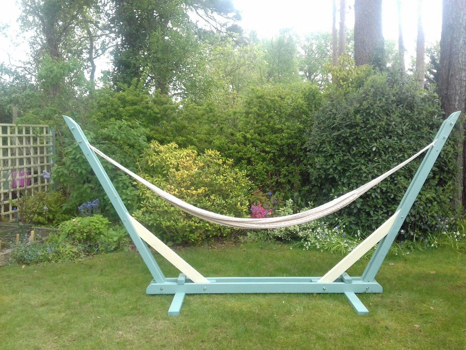 hammock youtube wood stand watch