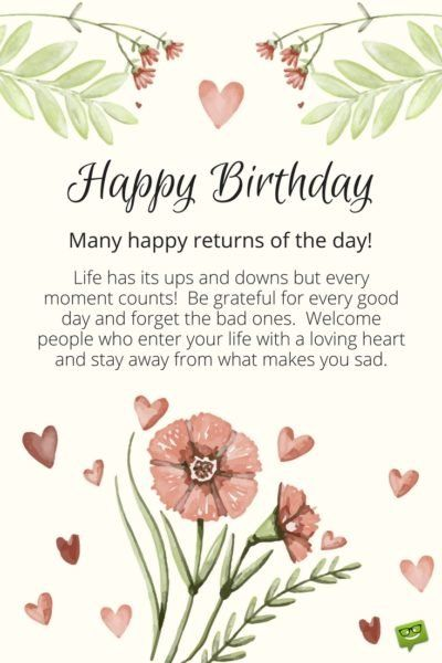Inspirational Birthday Wishes Messages To Motivate And Celebrate Happy Birthday Quotes For Friends Inspirational Birthday Wishes Birthday Wishes For Her