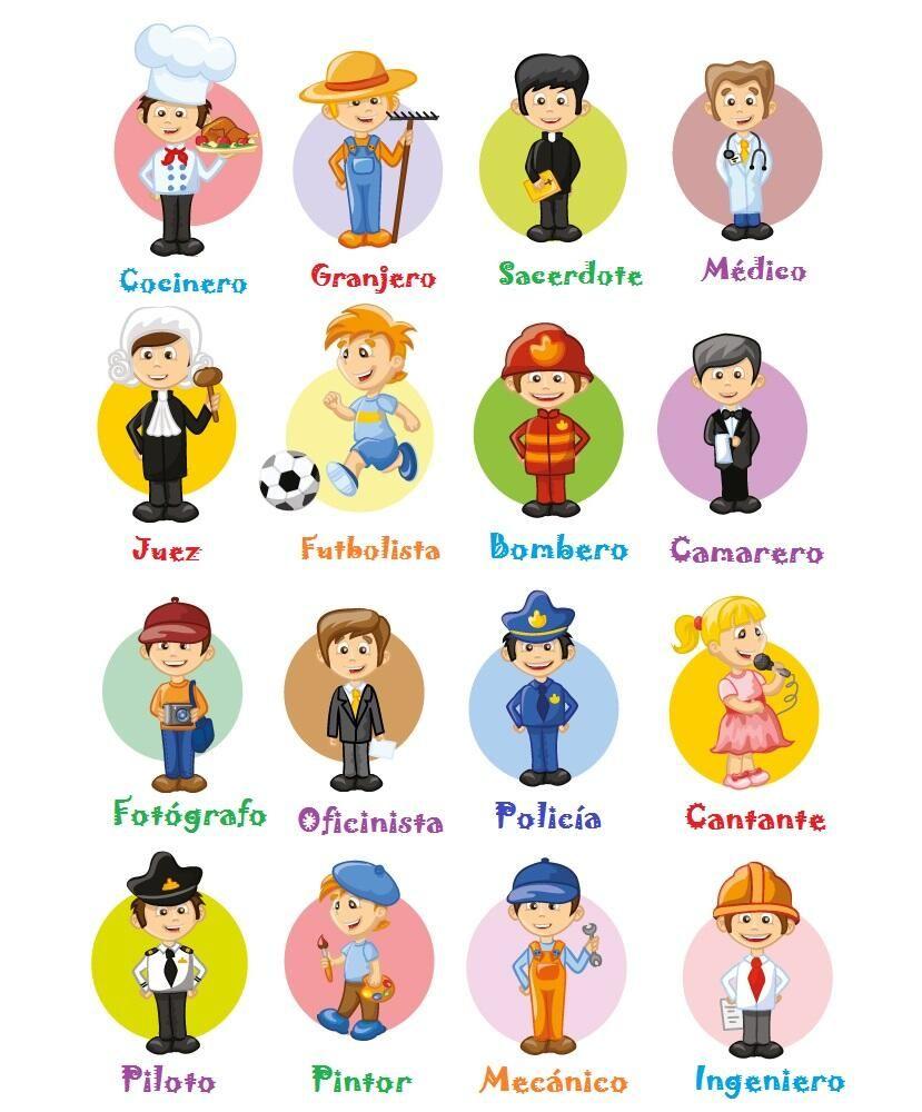 Spanishlanguageroute Slroute On Twitter Profesiones Para Ninos Oficios Y Profesiones Profesiones