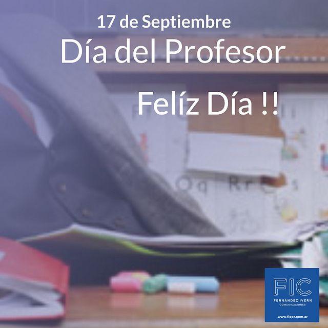 El día del profesor se celebra el 17 de septiembre. Pin On Publicaciones