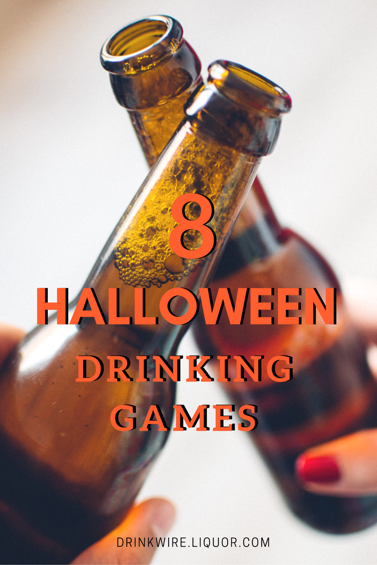 The 8 Halloween Drinking Games You Have to Try Guaranteed