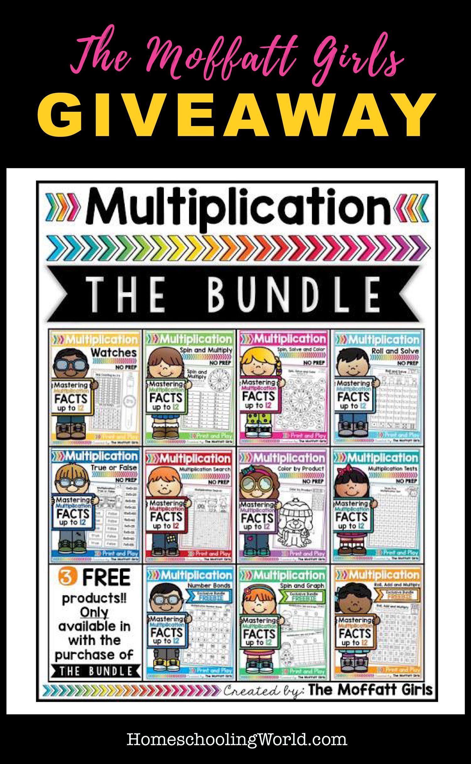 Win A Multiplication Bundle From The Moffatt Girls
