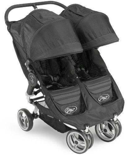 Baby Jogger 2011 City Mini Double Stroller Black Black