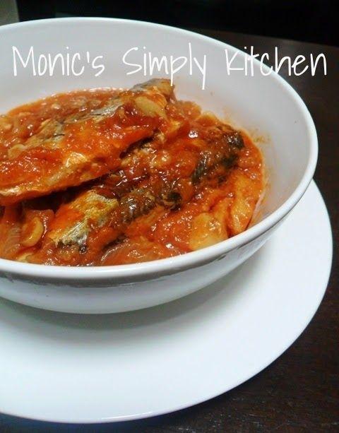 Cara Membuat Sarden Homemade Monic S Simply Kitchen Makanan Dan Minuman Resep Sarden Resep Ikan