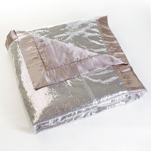 Silver Sequin Throw Blanket 40 X 40 Dream Home Would Have This Enchanting Silver Sequin Throw Blanket