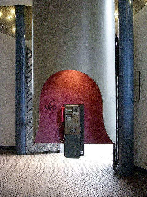 Phonebooth Phone, Office phone, World decor