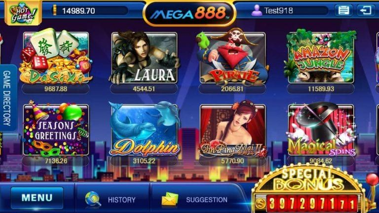 Mega888 [Updated] Download APK IOS Free slot games