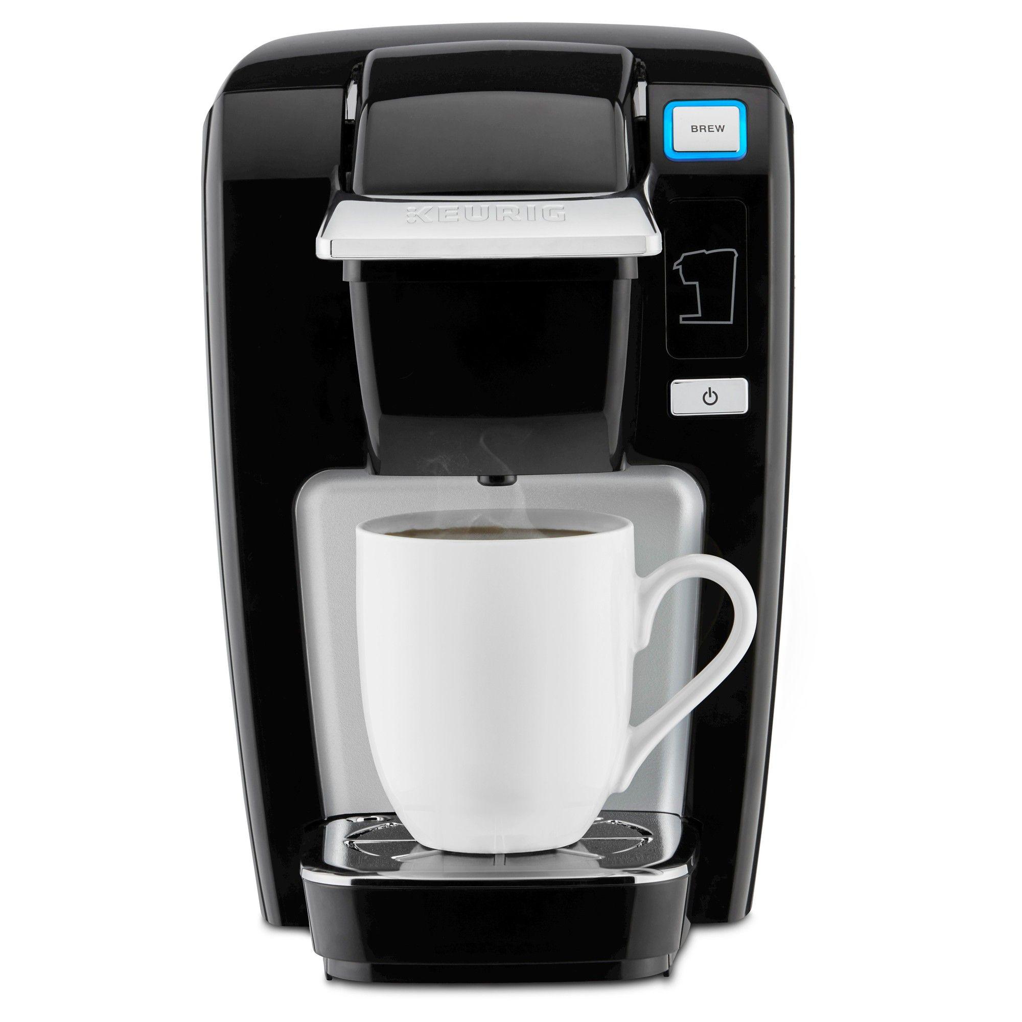 Keurig K15 Single Serve KCup Pod Coffee Maker Black