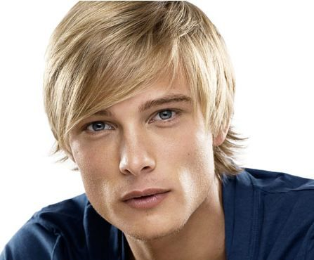 Blonde Fringe Hairstyle For Men In 2019 Hair Styles 2014