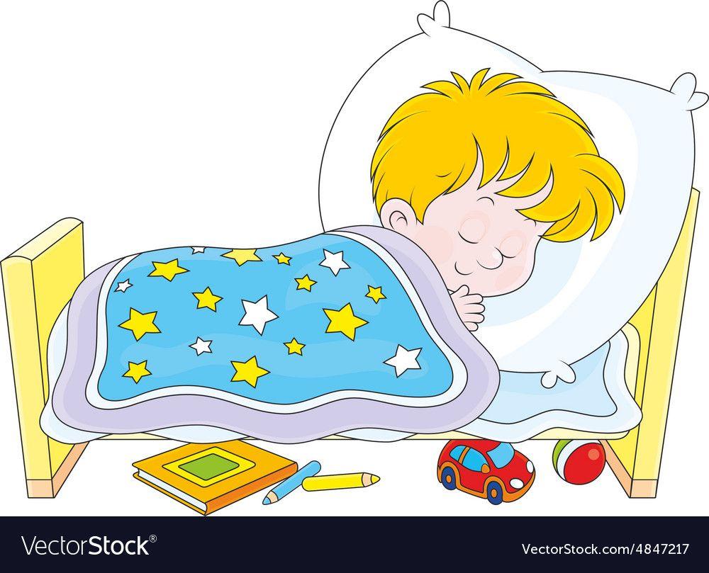Boy sleeping vector image on VectorStock | Vector free