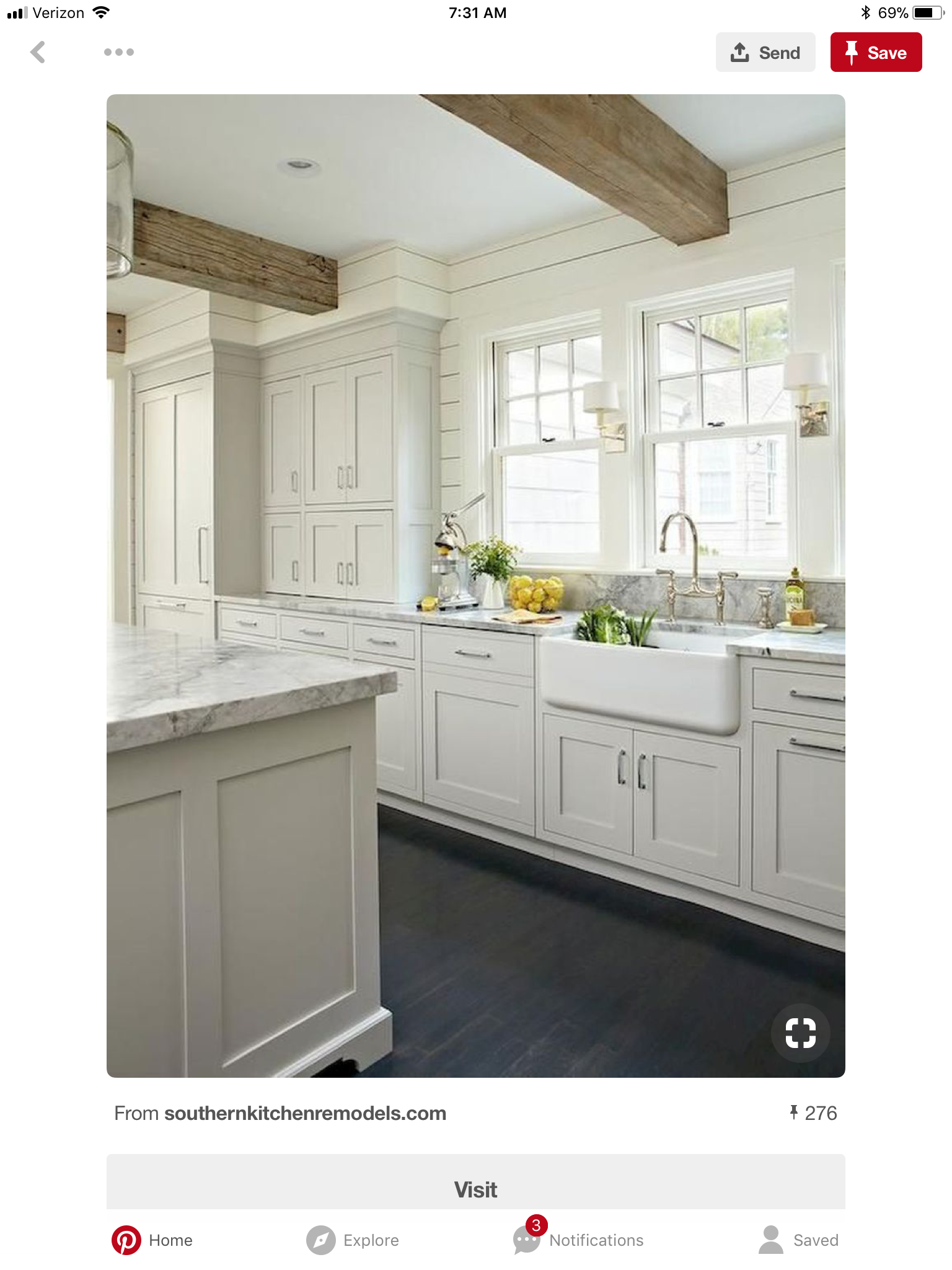 Pin by Grace Smith on Vermont kitchen Gray and white