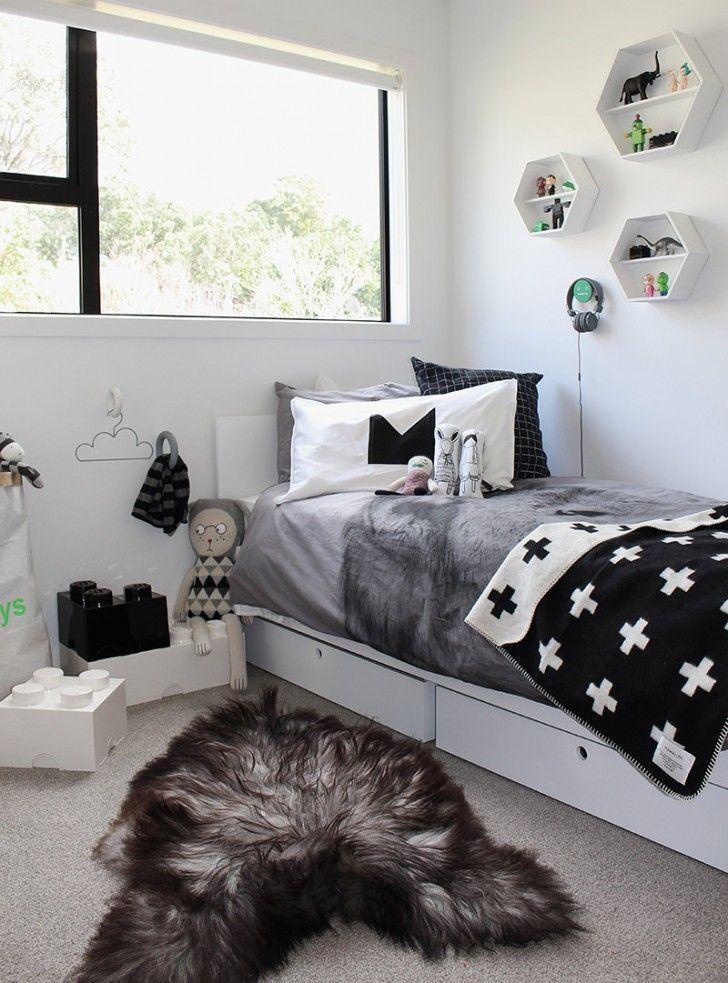 10 Great Kidu0027s Bedrooms In Grey Tones Decoración