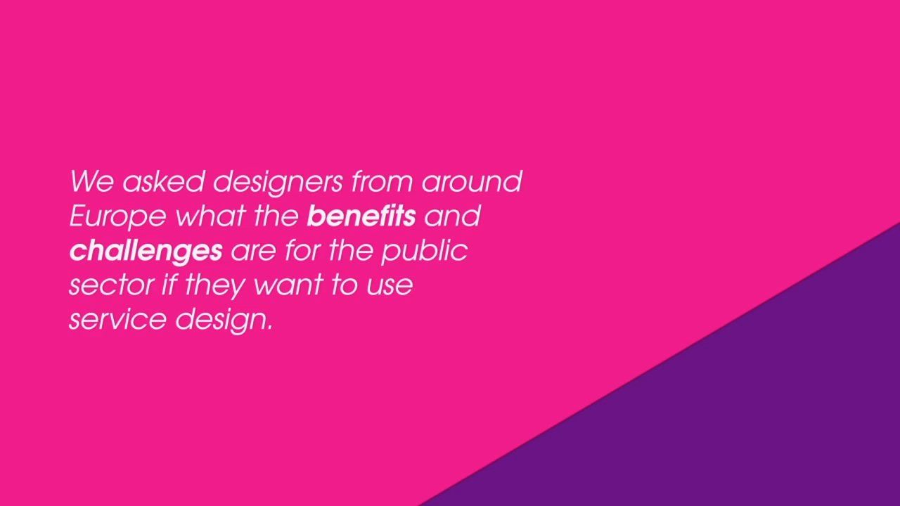 Service Design The Challenges Benefits For The Public Sector Arren Roberts Ines Palaez Simon Penny Ilona Gurjanova Talk About The Be Einfach Design