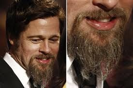 brad pitts cold sore no big deal most people carry the