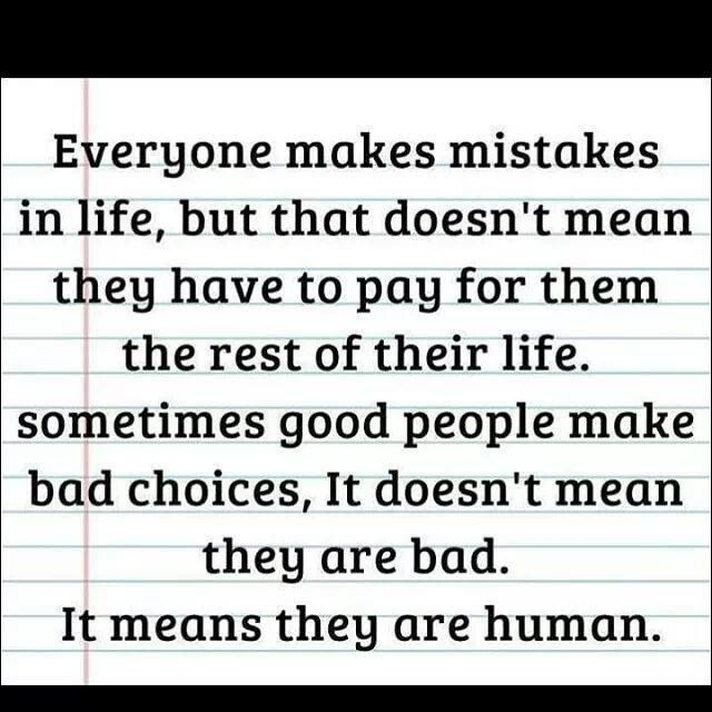 Everyone Makes Mistakes Mistake Quotes Inspirational Quotes Everyone Makes Mistakes