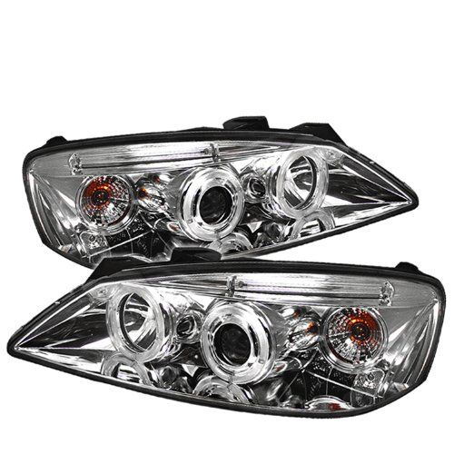 Spyder Auto Pontiac G6 Chrome Halogen Projector Headlight