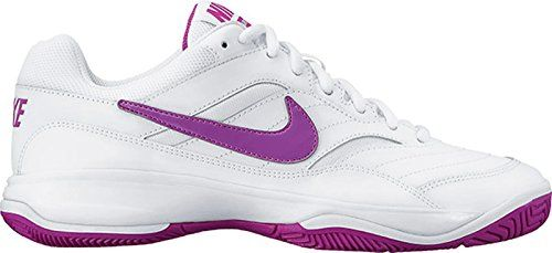 Nike Women S Court Lite Badminton Shoe Women S Nike Court Lite Tennis Shoe Combines A Leather And Mesh Upper Wit In 2020 Badminton Shoes Tennis Court Shoes Nike Women