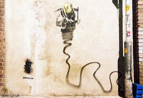 Banksy Reaper