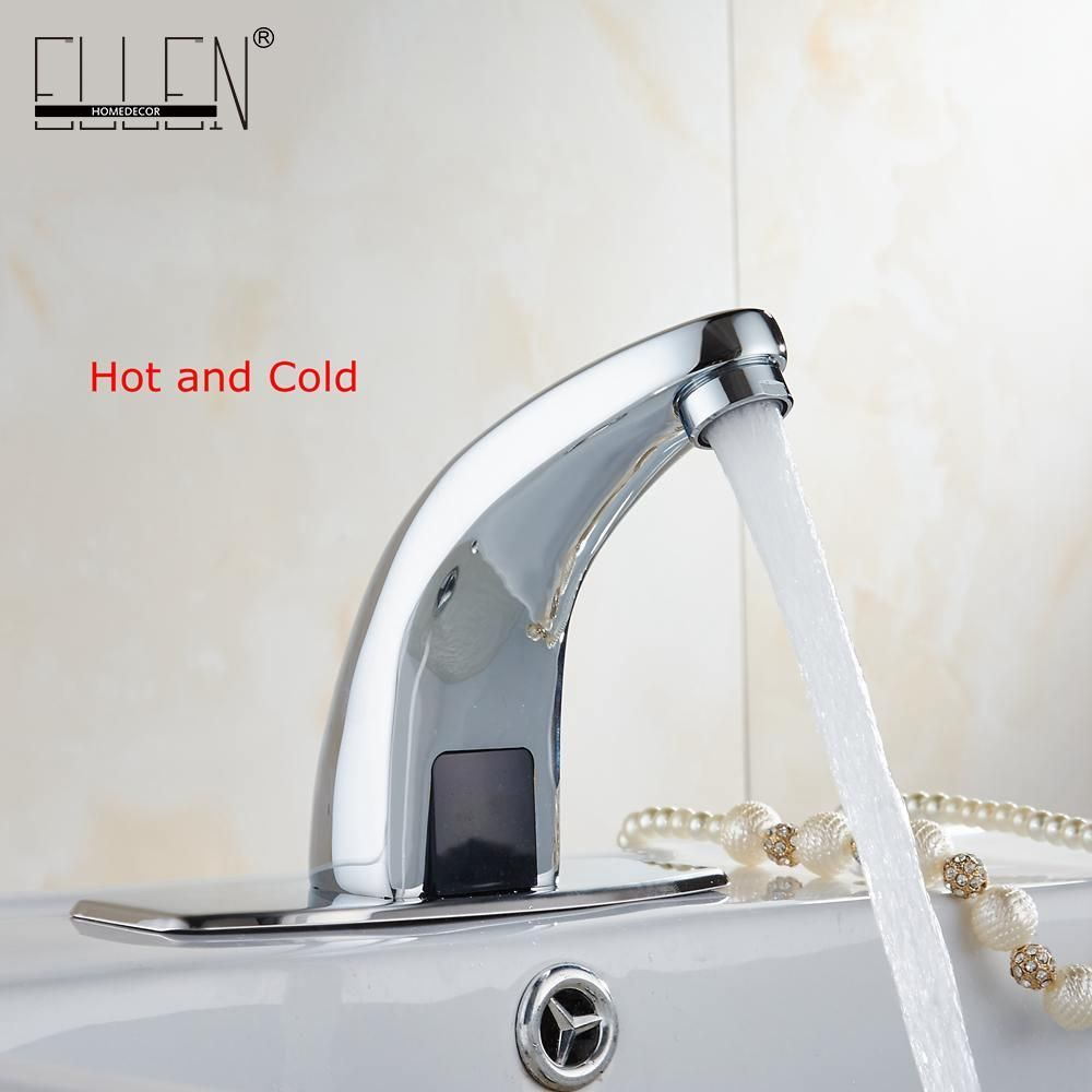 Visit to Buy] Hot And Cold Automatic Hands Touch Free Sensor Faucet ...