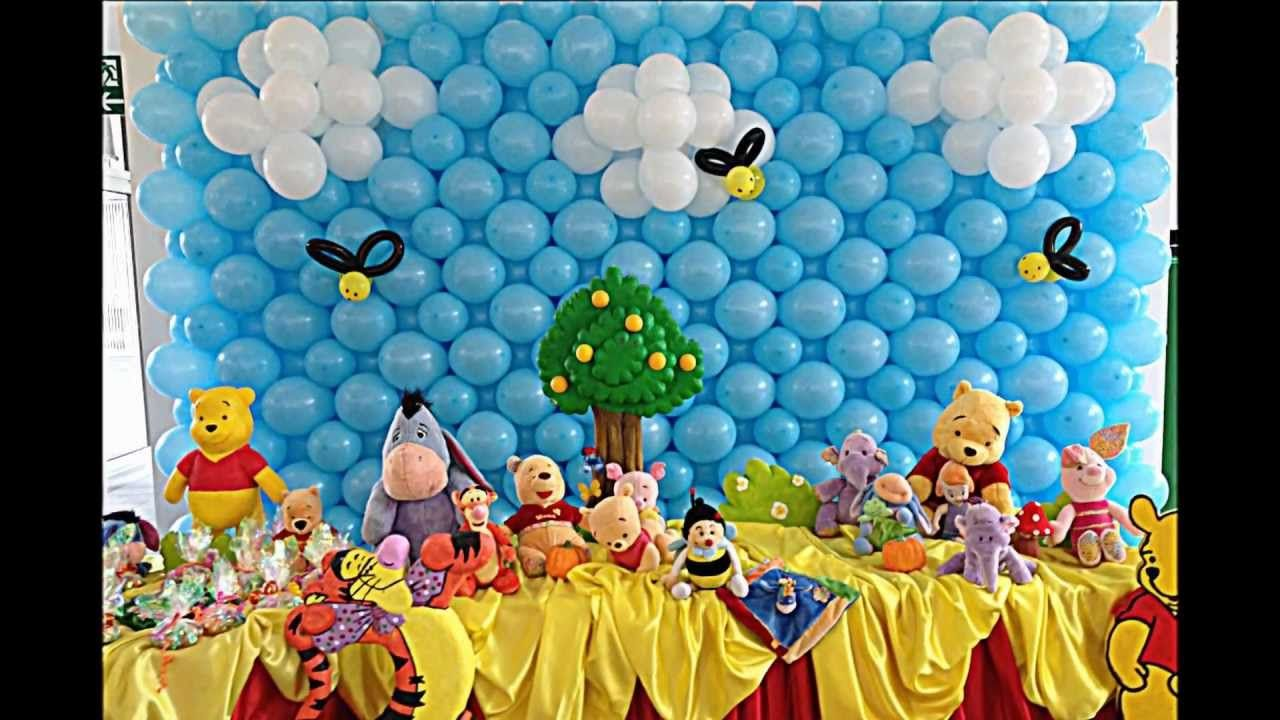 Winnie The Pooh Theme 4 Stars Most Beautiful Birthday Party