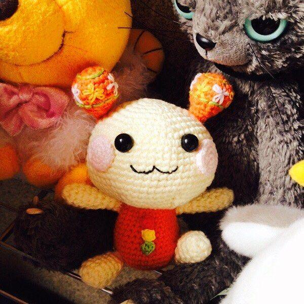 #crochet#crocheter#crocheted#crochetaddict#yarn#yarnlove#yarnaddict#cottonyarn#編みぐるみ#あみぐるみ#うーたん#いないいないばあっ#amigurumi#handmaid#handcrochet by fuuka_mam