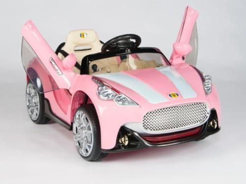 Another Cool Link Is Prettyboynews Com Pink Maserati Style 12v Kids Ride On Car Battery Power Toy Cars For Kids Kids Motorized Cars Power Wheels