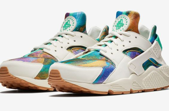 9c49976defe9 Multicolor Patterns Highlight This Nike Air Huarache