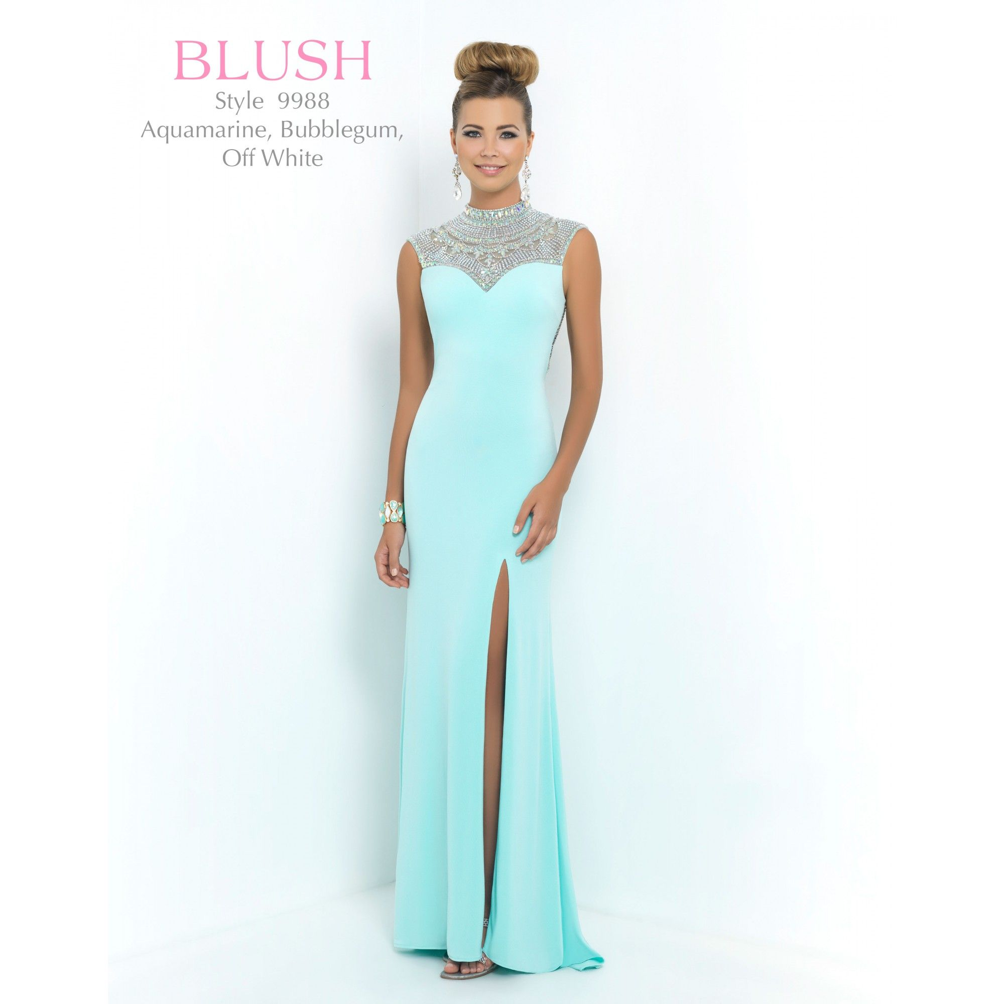 Blush blush prom dress tampabridalshops formal