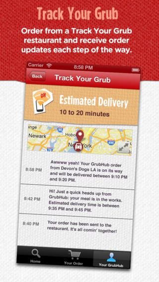 Top Free iPhone App #214: GrubHub Food Delivery & Takeout