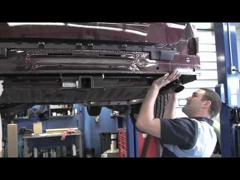 Honda Odyssey Trailer Hitch Installation   YouTube