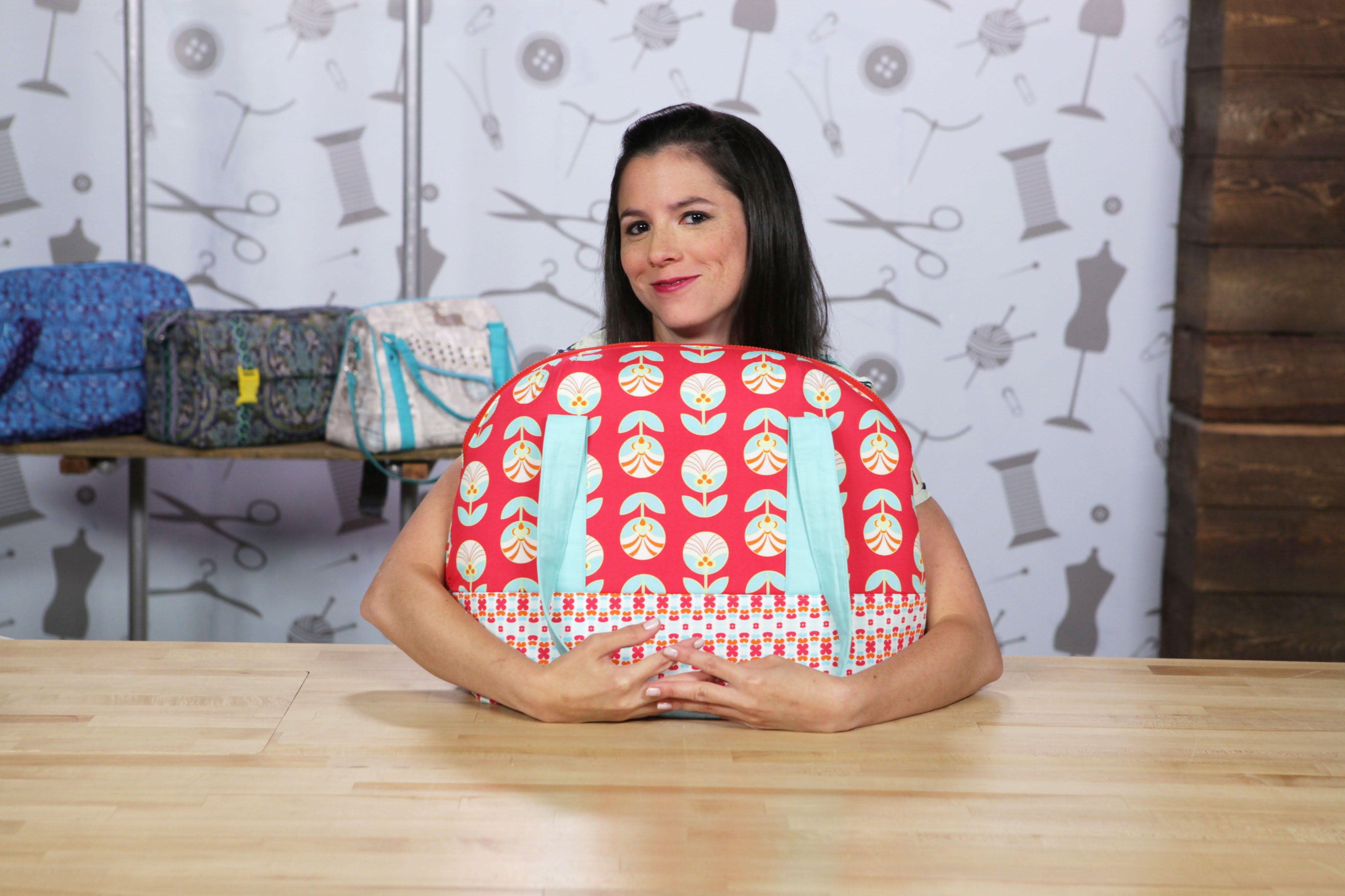 Craftsy class: Building Better Bags: Interfacing and Structure