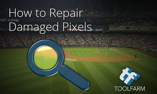 In Depth: Repairing Damaged Pixels (updated). Dead pixels, stuck pixels, bad pixel, burnt pixels, hot pixels… there are lots of types of damaged pixels and they're annoying. Here are several ways you can repair them.