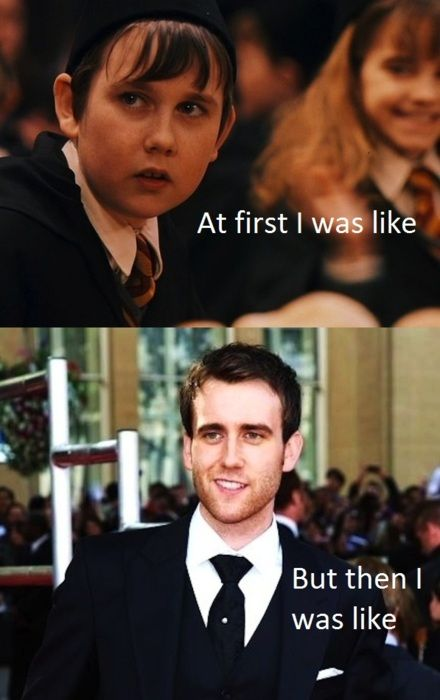 and then the day came when neville was the hottest wizard of them all.