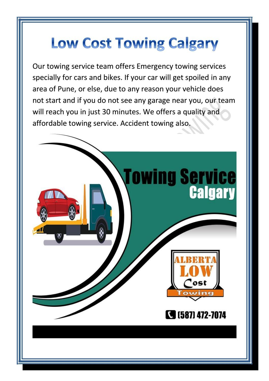 Towing Service Cost >> Low Cost Towing Calgary Low Cost Towing Calgary Calgary
