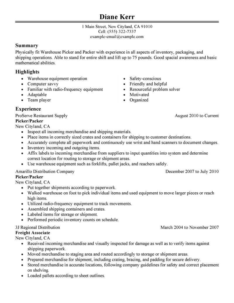 Resume Examples Manufacturing Resume Templates Resume Examples Good Resume Examples Basic Resume Examples