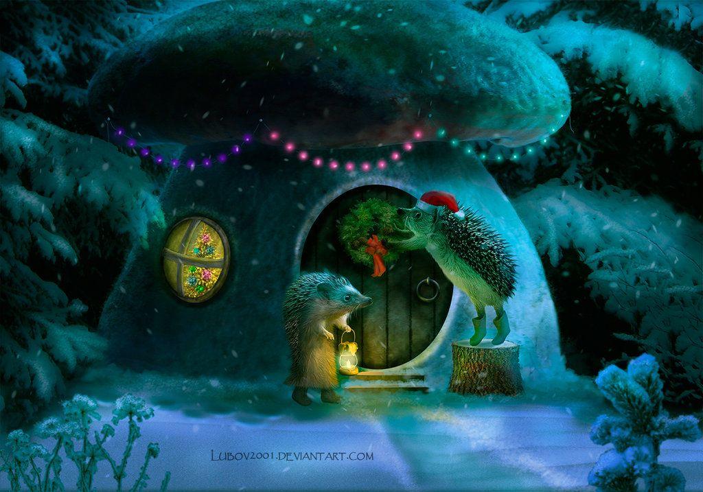 wonderful Christmas by Lubov2001.deviantart.com on @DeviantArt