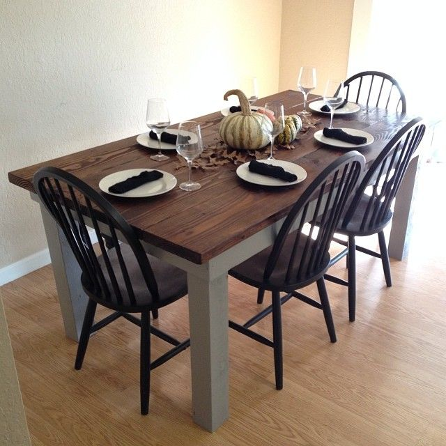 Ana white farm house table based on rustic table plans diy ana white farm house table based on rustic table plans diy projects solutioingenieria Image collections