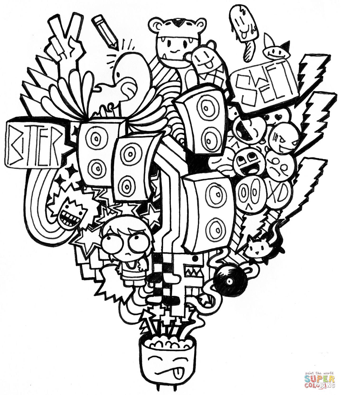 Tormenta de Ideas en Doodle | Super Coloring | dibujos para pintar ...