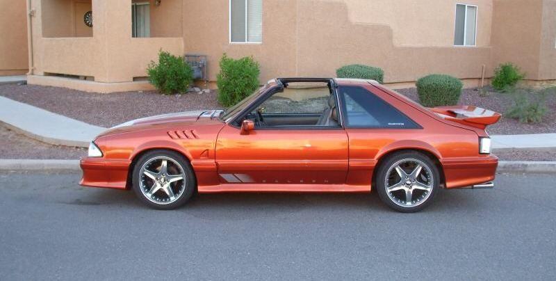 Sunburst Orange 1987 Mustang Gt Hatchback Mustang Cars Mustang Gt Mustang