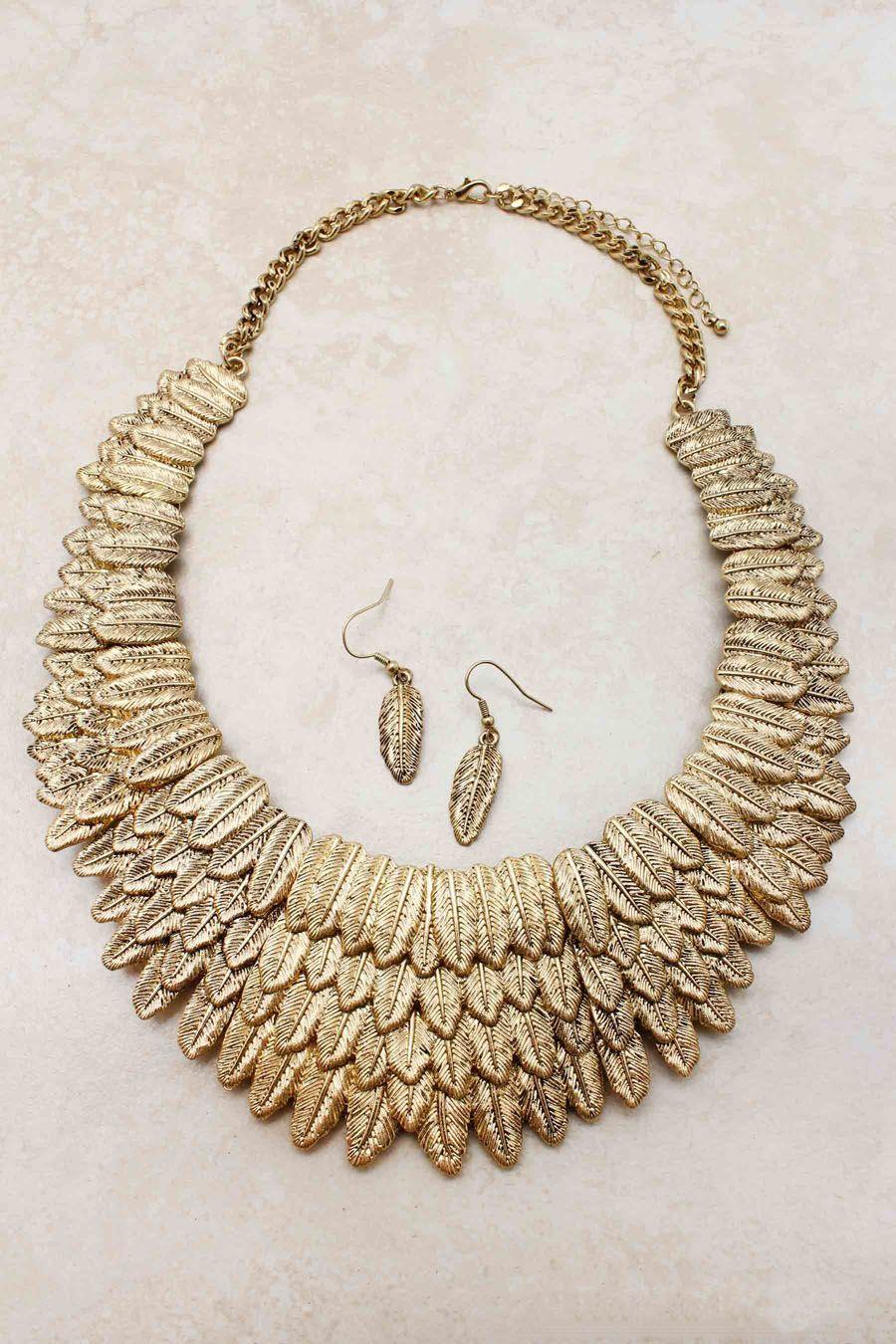 Golden Athena Statement Necklace ( http://www.emmastine.com/?campaign=type129=HardPin=Pinterest=HSESL )