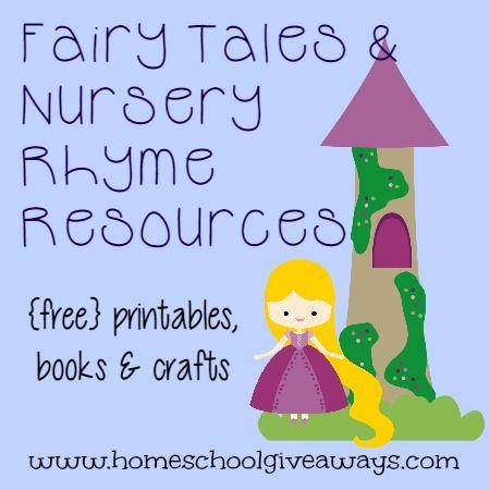 Fairy Tales Nursery Rhymes Freebies