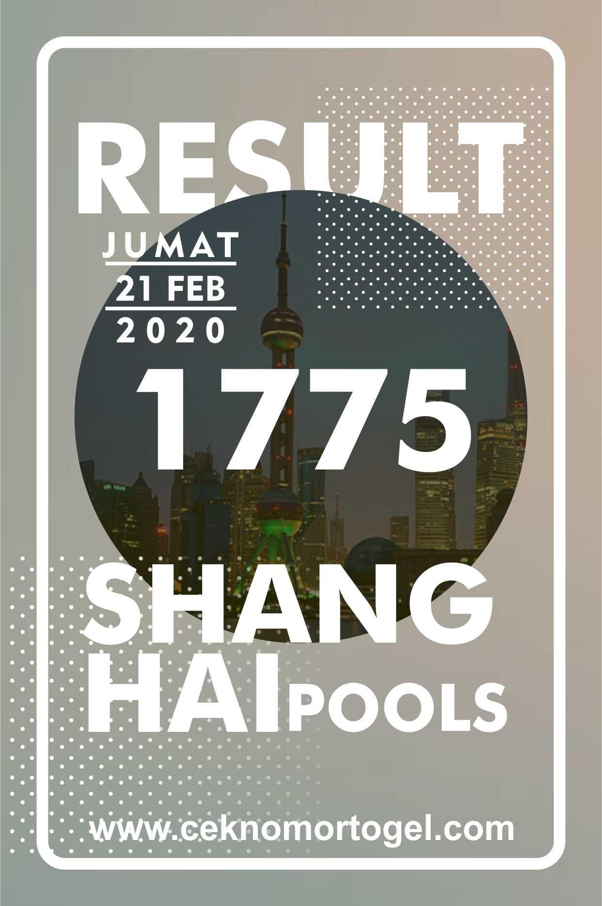 Prediksi Shanghai Pools Hari Ini : prediksi, shanghai, pools, Result, Shanghai, Jumat, Februari, Gambar,, Shanghai,, Pengetahuan
