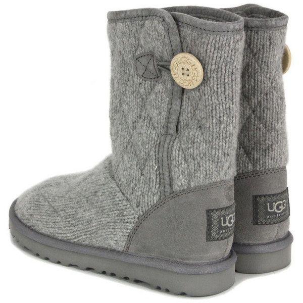 e756a1e2a42 Ugg Mountain Quilted Seal Grey Short Boot - UGG Australia ...