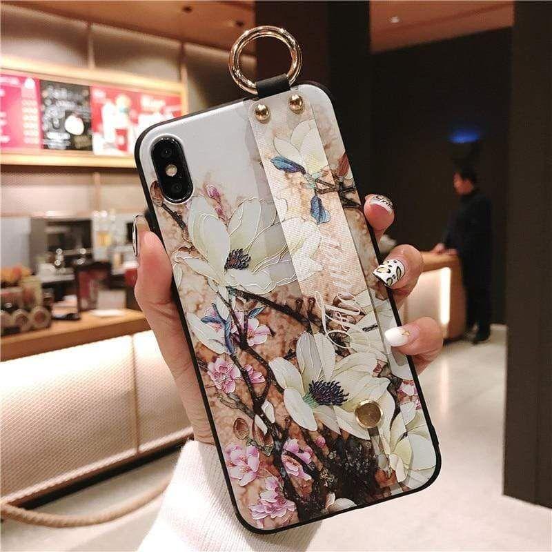 Phone Holder Case For Samsung Galaxy A70 A50 A40 A30 A20 A10 Wrist Str